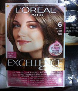 azeemstore.com. Loreal Excellence Hair Dye 6 Dark Blonde
