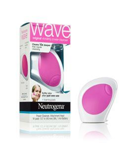 Neutrogena Wave Cleansing Machine with deep clean foaming pads
