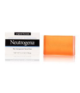 Picture of Neutrogena Transparent Facial Bar, Original Formula Fragrance Free 100gm Made in USA medicated