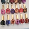 Picture of Medora Nail Polishes all numbers