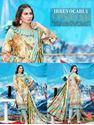 Picture of Orient 3pcs suit digital print Cotriaie Shirt, Dyed Cotriaie Trouser,digital print special weave shawl design06