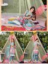 Picture of Orient 3pcs suit digital print Cotriaie Shirt, Dyed Cotriaie Trouser,digital print special weave shawl design04