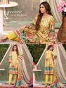 Picture of Orient 3pcs suit digital print Cotriaie Shirt, Dyed Cotriaie Trouser,digital print special weave shawl design01